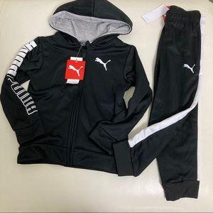 Puma Active Performance hoodie Pants Set